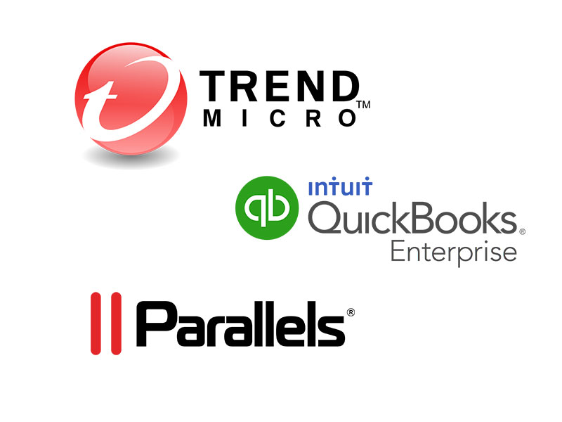 Apple and Microsoft Parallels w/ QuickBooks – TrendMicro Solution